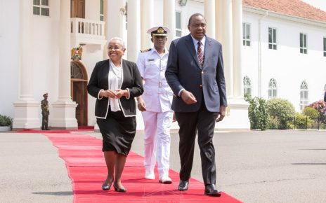 President Uhuru Kenyatta And First Lady Extends Their Love To Namibia