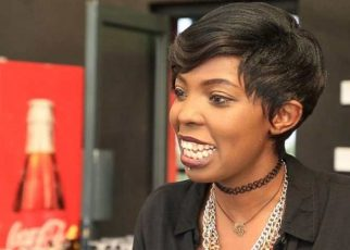 Did Adelle Onyango show her sexy body in a swim suit?