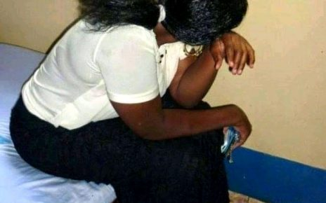 Drama In Murang'a Town As Wife Is Busted In A Guestroom With The Husband's Step Brother.