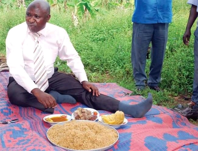 Murang'a Man Forced To Eat Seven Large Plates Of Rice Spiced With Red Pepper.