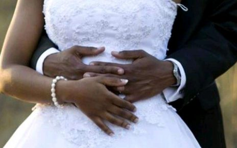 Nakuru Couple Holds A Wedding Without Food And Entertainment.
