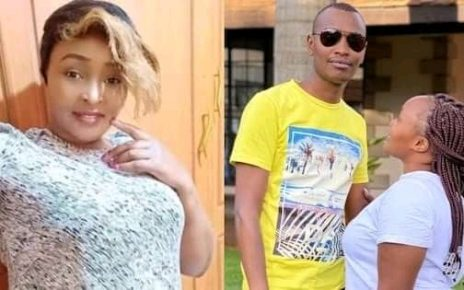 Karen Nyamu Now In Tears After Samidoh Blew His Wife Kisses On Live TV