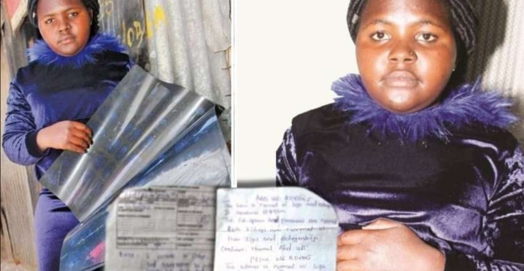 They Stole My Kidney During An Operation; Kenyan Lady Claims.