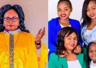 Bishop Mercy Waciama's Children And Husband Releases Song In Her Honour.