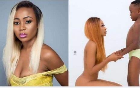 Ghanaian Actress Sentenced To 90 Days In Prison Over Nude Photoshop With Son.