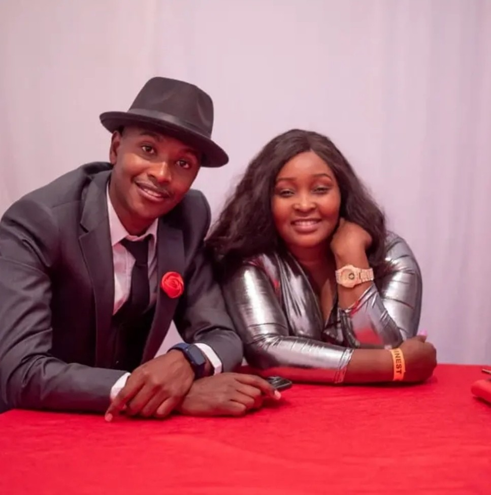 """""""Focus On Your Destiny.""""; Samidoh's Wife Shares Photo Getting Cozy With Husband."""