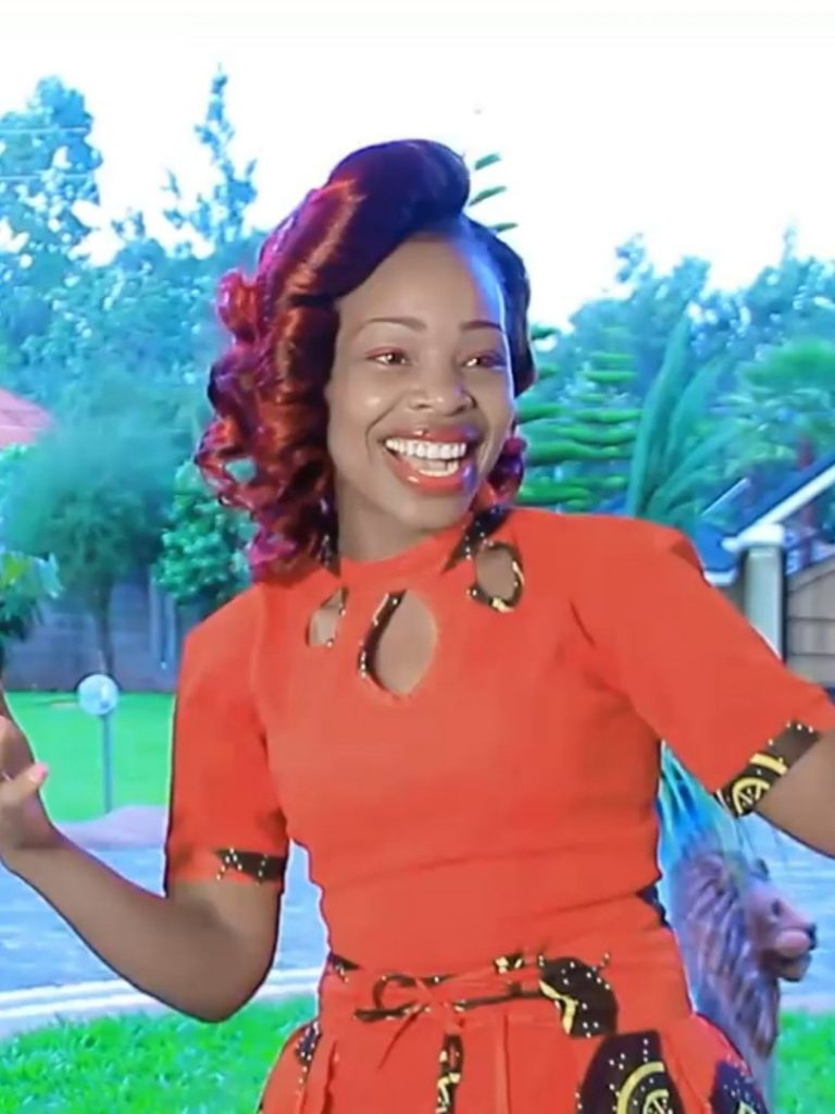 Meet The Magnificent Njogu Wa Njoroge 2nd Wife Mary Lincoln (photos)