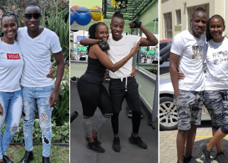 7 Photos Of Guardian Angel And His 51 Year Old Lover Esther , Age Is Just A Number.