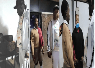 Mike Sonko Surprises a Form Three Student Sleeping By The Streets Of Nairobi