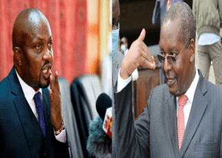 Moses Kuria hits out at Kimunya after being summoned to answer for misconduct during BBI vote