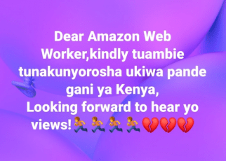 Kenyans Left In Tears after Amazon Web Worker Vanishes With Millions Of Money