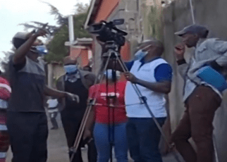Kiambu Rogue landlord Beats Journalists, lesson for poking their noses into his business