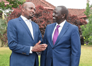 SHOCK on RUTO, MOSES KURIA refuses to join his UDA ''I will never fold my party to join others''