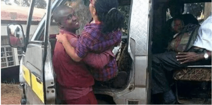 """Inspiring Matatu Crew That Picks & Drops Disabled People to Work """"Humanity at its best"""""""