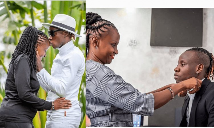 GUARDIAN ANGEL's wife 51-year old ESTHER NTHENYA, catches feelings after a fan asked her whether she will sire babies with the singer ''response''