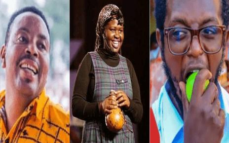 """Chezeni chini, mi ndio bazzu kwa hii game""""- Ben Githae Tells Hamo And Jemutai"""