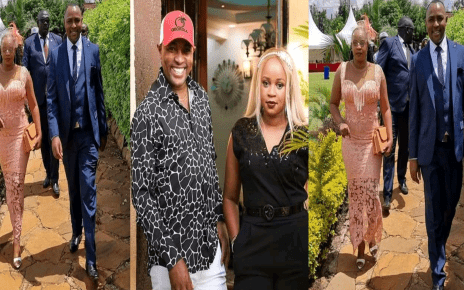 Kiengei Steps Out With His Beautiful Goat Wife; He Looks Happy (PHOTOs).
