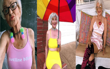 Meet The 92-year-old Granny Who Is Giving International Men Sleepless Nights; She Is A Model (PHOTOs)