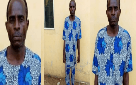 Man Arrested For Defiling His 3 Daughters And A Neighbor's Niece.