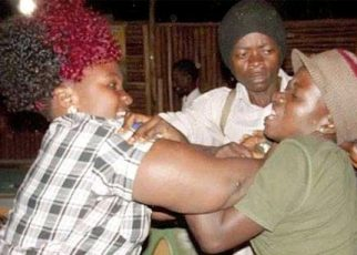 Drama In Murang'a As Lady Beats Sister To A Pulp After Busting Her In The Act With Her Son.