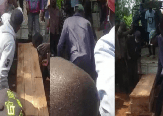 Drama In Kiambu As Man Is Buried 'Like A Dog' After Allegedly Killing His Brother Over Inheritance