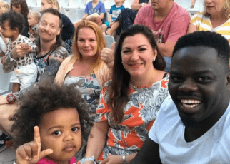 Meet,Former Mother-in-Law Actor Ninja With his Mzungu Wife (life so good)'PHOTOS'