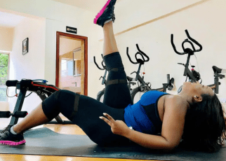 JOHO's former side-chick, BETTY KYALLO, treats men to thirst traps in the gym (PHOTOS)