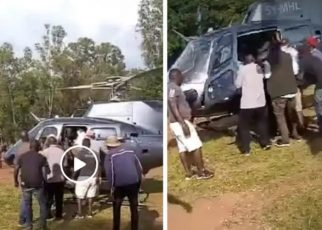 James Orengo Forced To Flee After Angry Siaya Residents Attacked Him.