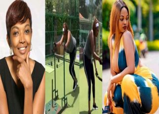 """I want to wear a booty short""""- Karen Nyamu Says After New Extreme Workout Sessions"""