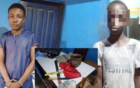 Man Arrested Attempting To Sacrifice His Nephew For Money Rituals.
