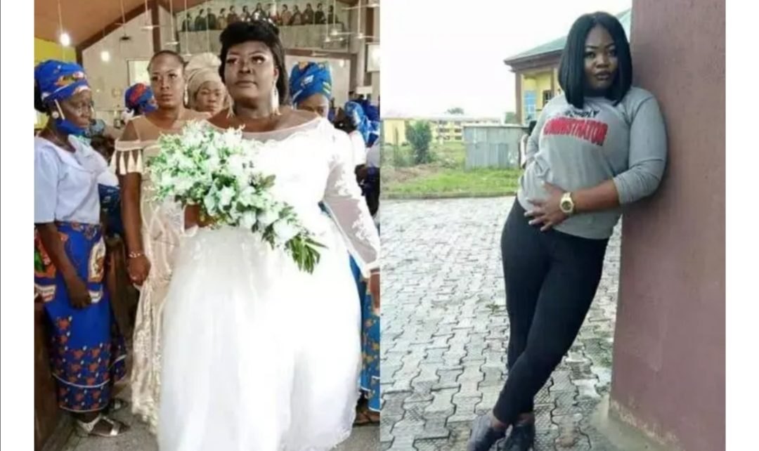 Bride Turns Up With A Drip Needle On Her Hand;Dies A Day After Her wedding (PHOTOs)