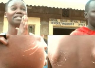 Unyama! Man, Woman Arrested For Mistreating Step-Son; They Fed Him With Faeces.