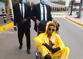 Eric Omondi Lands in Tanzania In Style To Pick Wife Material Sn2 Contestants