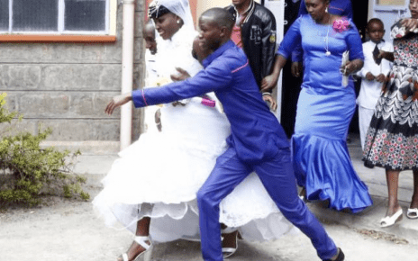 Drama as woman who divorced an year Ago storms Husbands wedding