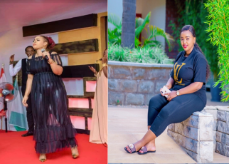 Slay queen pastor, LUCY NATASHA, roasted after a lady in her worship team was spotted dressed indecently (PHOTO)