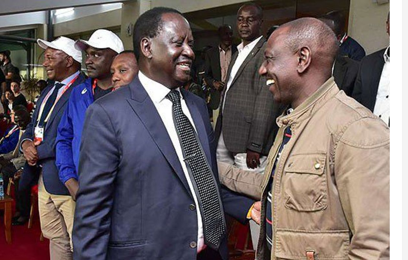 I will Send RUTO to Sugoi by 8 am – RAILA ODINGA says he has assembled a 'heavy machine' for 2022 election