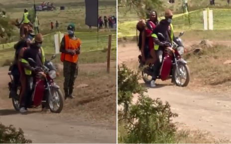 Vasha chronicles: Slay Queen Spotted been ferried on Boda after she passed out (VIDEO)– Whose daughter is this? .