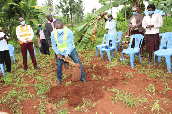 26,000 Murang'a residents to get clean water in partnership deal'' Muchungucha, Ngaru and Kiangochi villages in Murang'a East''