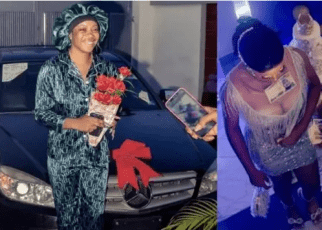 Man buys car for his girlfriend who stood by him when he was broke