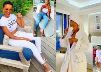 Huddah I can't date Kenyan men,'They are too stingy'