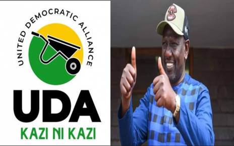 UDA Officially Welcomes DP Ruto To 'Hustler Nation'