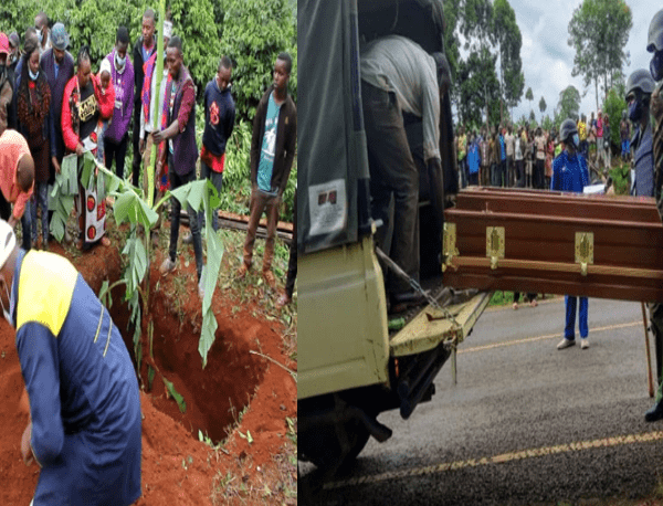 Drama in Muranga as Children Stop Father's Burial Over Property Row with Step Mother