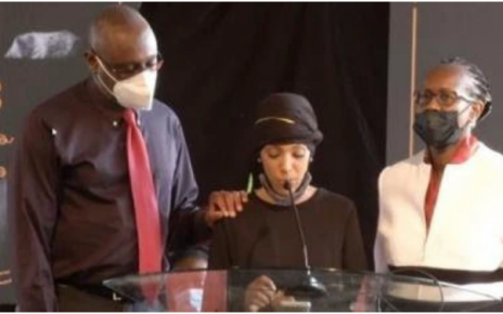 Chris Kirubi's Third and Last Born Child Emerges During his Funeral Service