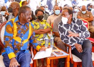 Kenyans concerned RAILA ODINGA is suffering from Dementia ,he said KALONZO is DEAD in Kalembe Ndile burial