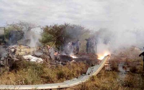 Details of what caused the KDF chopper to crash and kill 10 soldiers in Kajiado