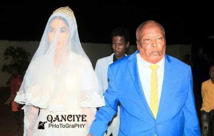 Old Mzee shamelessly marries a young girl old enough to be his granddaughter (PHOTOs).