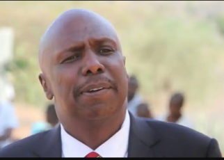GIDEON MOI addressing empty seats as Kiambu MCAs embarrass him badly after falling to turn up for his meeting