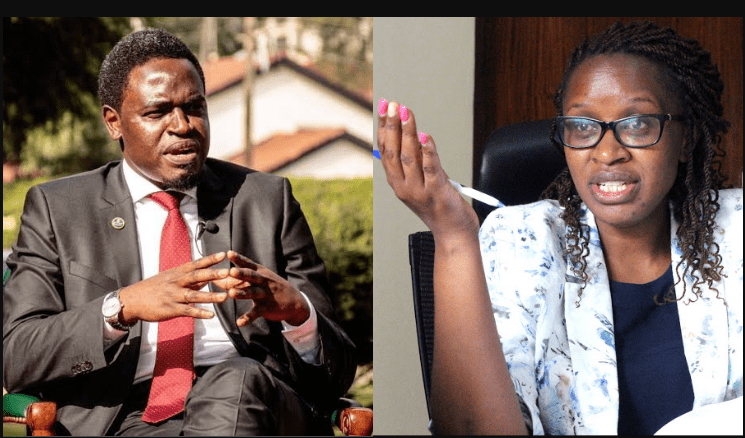 LKS President, NELSON HAVI, arrested for assaulting a female colleague over money as alleged