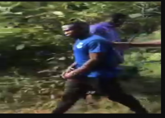 VIDEO of killer, WANJALA, taking police to where he dumped two children after killing them in Kabete.