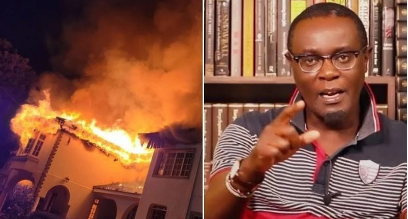 MUTAHI NGUNYI's employee reveals unknown details about fire at Runda home